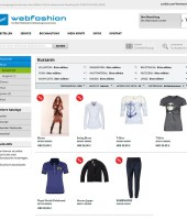 WEBFASHION-Artikelauswahl